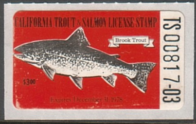 California fishing license stamps for Dicks fishing license